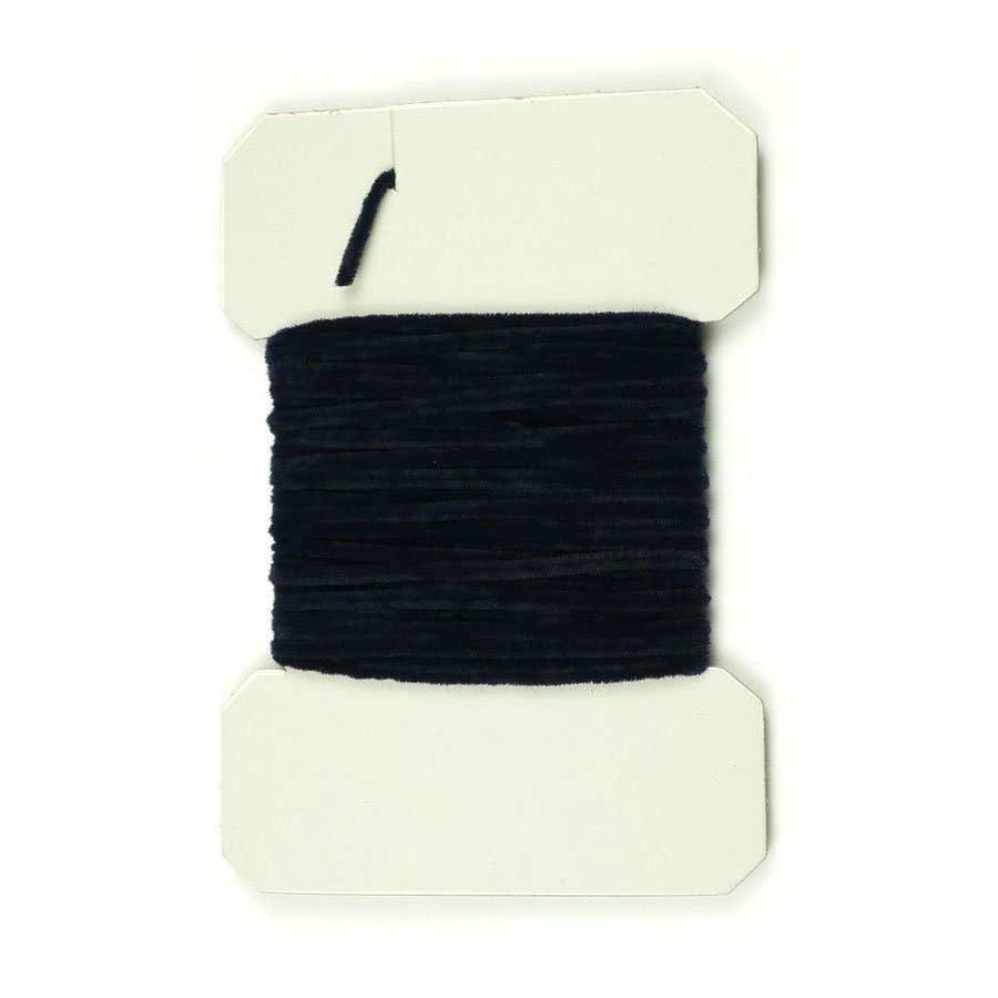 Ultra Chenille Standard for Fly Tying Black