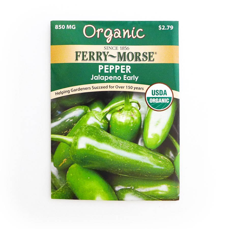 Ferry Morse Pepper Jalapeno Early Seed