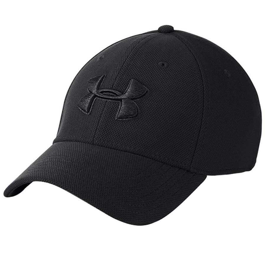 Under Armour Mens HeatGear Fish Scale Logo Cap