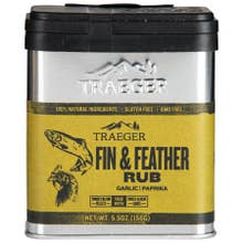 Traeger Fin and Feather Rub - 5.5 oz