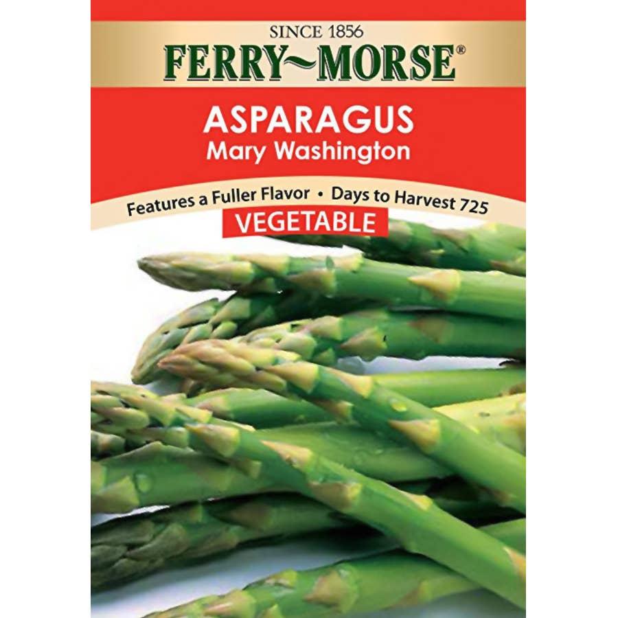 Ferry Morse Sow Easy Asparagus Mary Washington Seeds