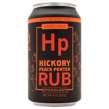 Spiceology Derek Wolf Hickory Peach Porter Rub - 8 oz