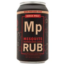 Spiceology Derek Wolf Mesquite Peppercorn Lager Rub - 8 oz