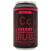 Spiceology Derek Wolf Cherry Chipotle Ale Rub - 8 oz