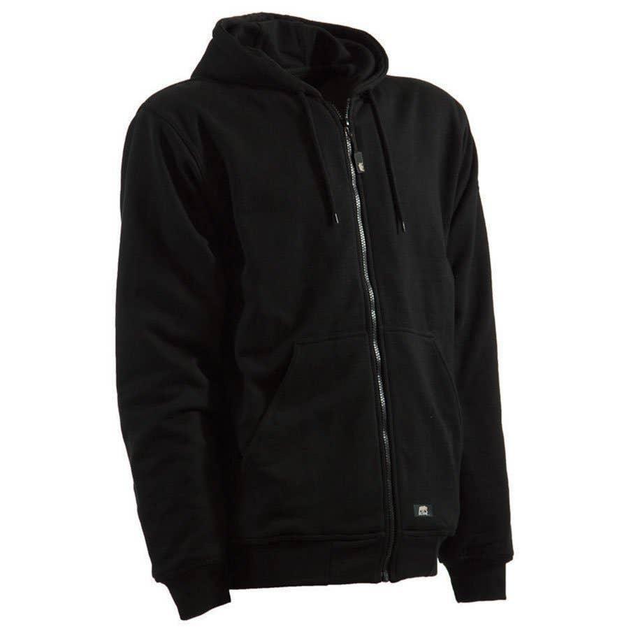 Berne mens Original Thermal-lined Hooded Sweatshirt