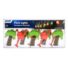 Camco Flamingo And Palm Party Lights