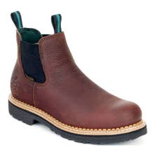 Georgia Men's Waterproof High Romeo Boots - Soggy Brown